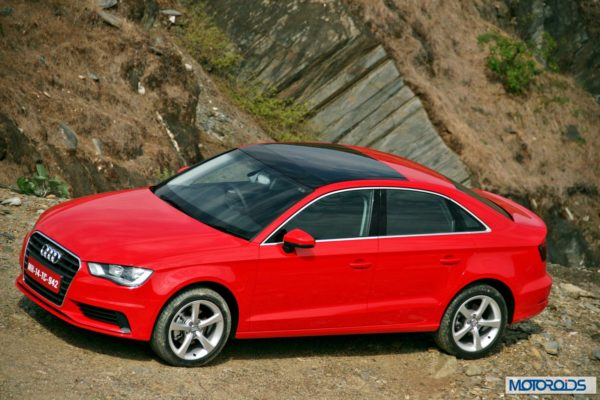 Audi A3 India review red (7)