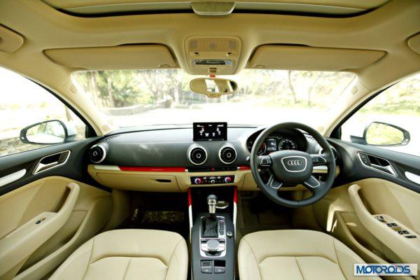 Audi A3 review beige interior (2)