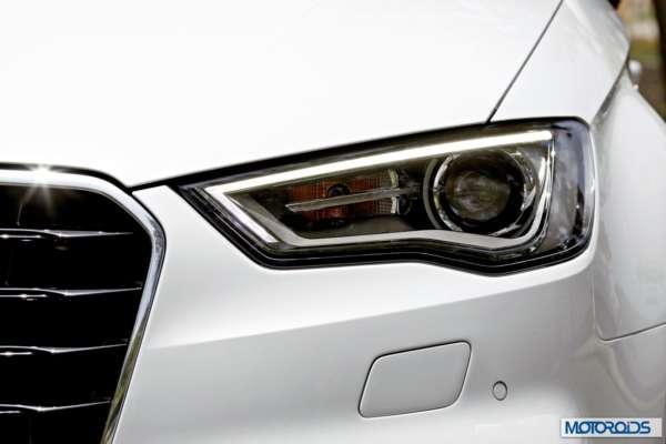 Audi A3 sedan India white (3)