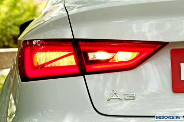 Audi A3 sedan India white (5)
