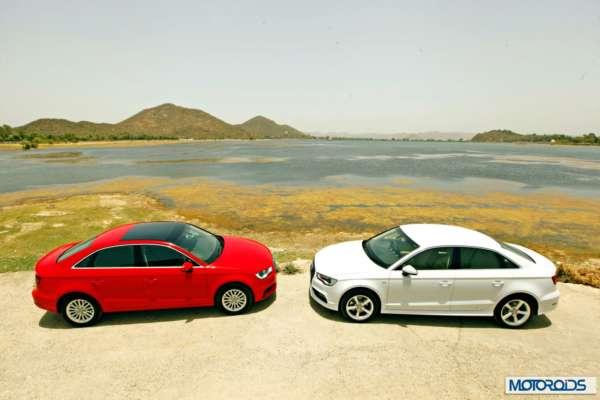Audi A3 sedan India white (9)