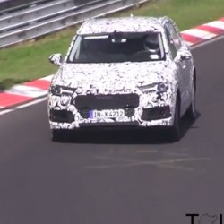 VIDEO: Likely mule of Audi SQ7 spied