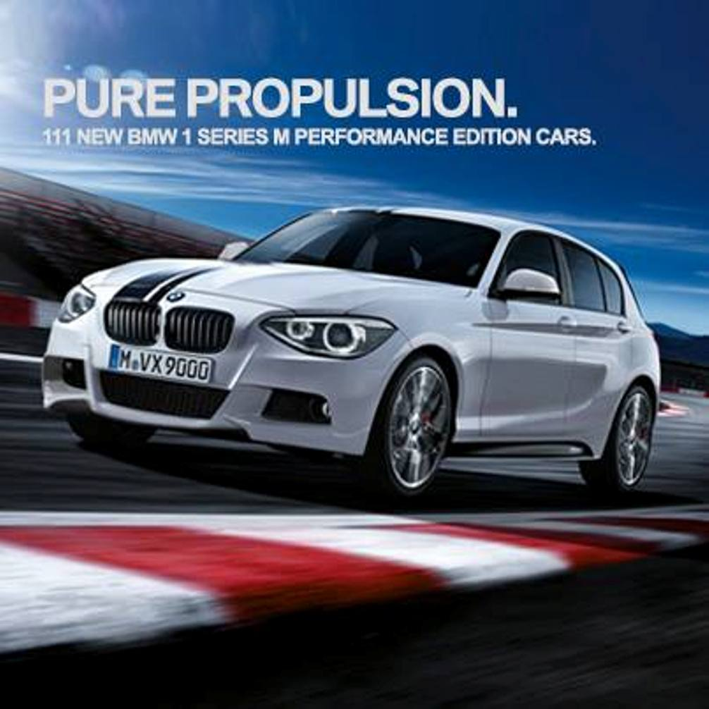 bmw 1 series m performance edition introduced in india motoroids. Black Bedroom Furniture Sets. Home Design Ideas