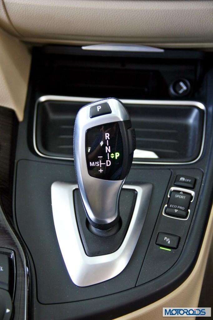 BMW 3 series GT 320d interior (14)