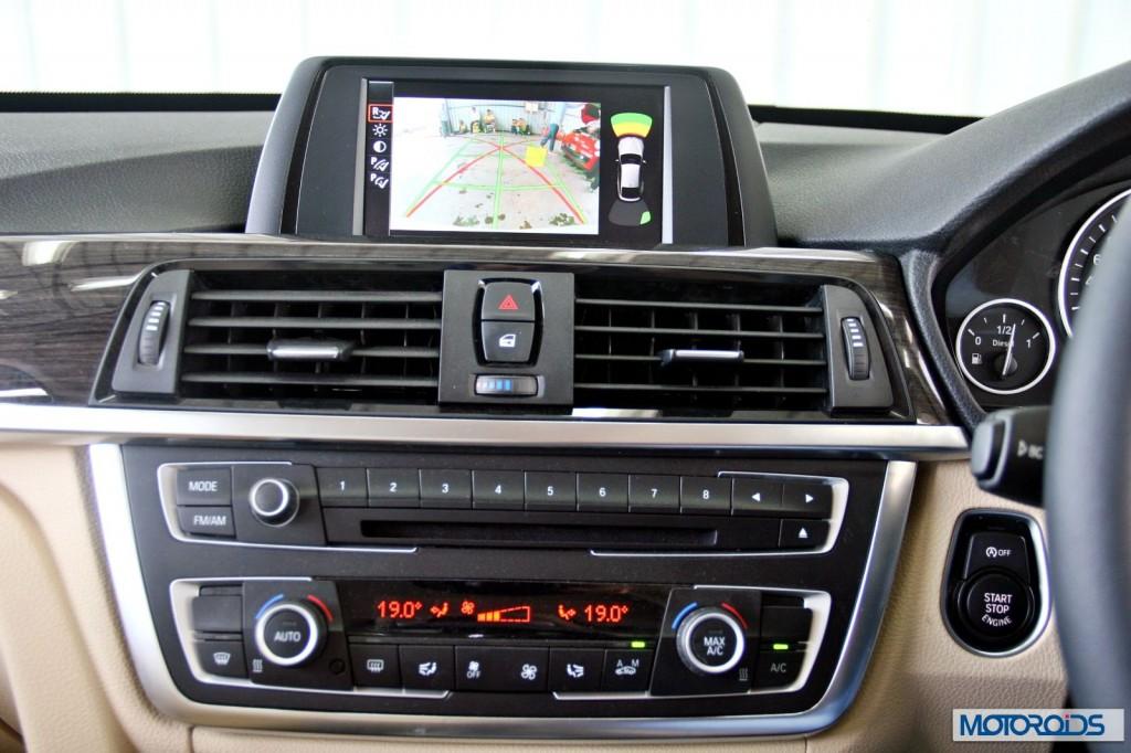 BMW 3 series GT 320d interior (16)