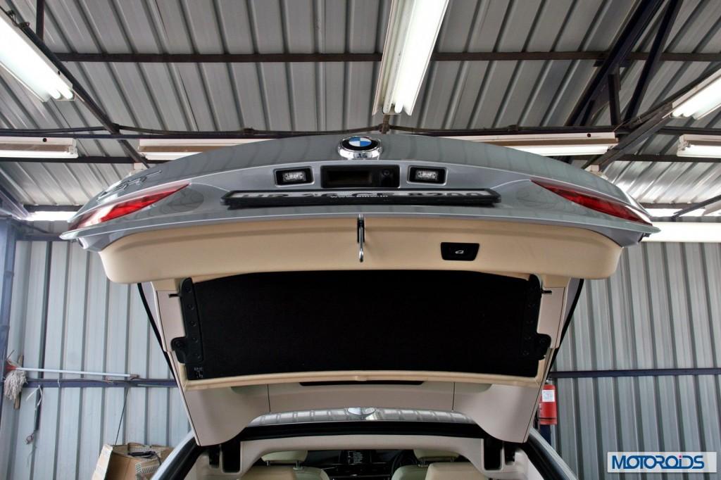 BMW 3 series GT 320d interior (34)