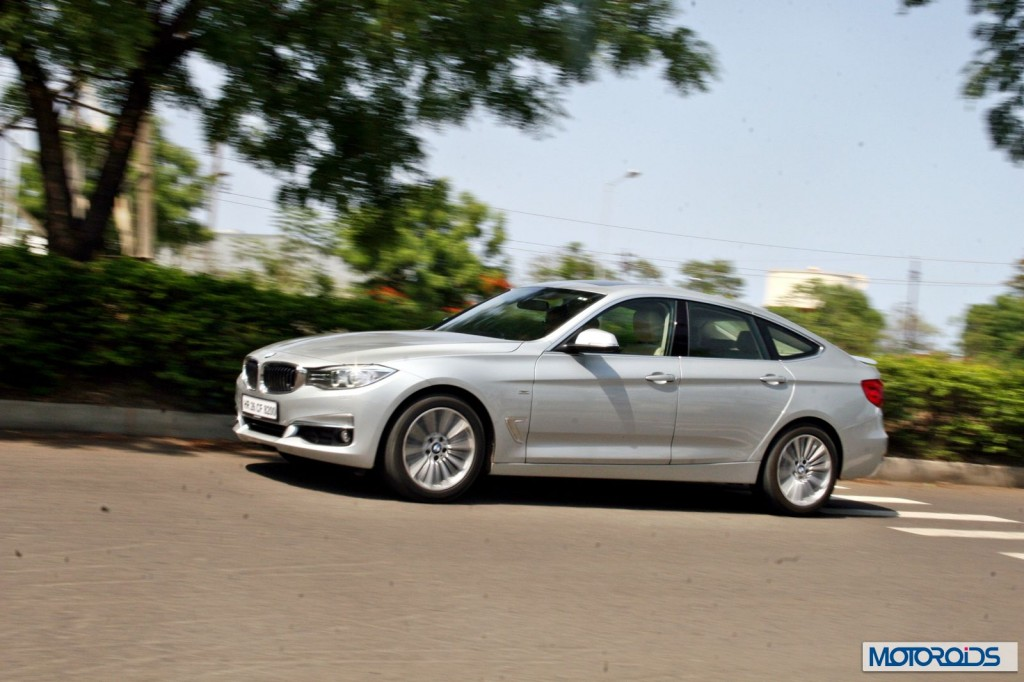 BMW 3 series GT 320d interior (36)