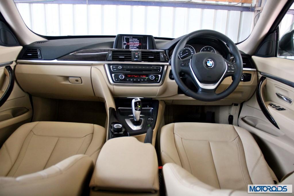 BMW 3 series GT interior (4)