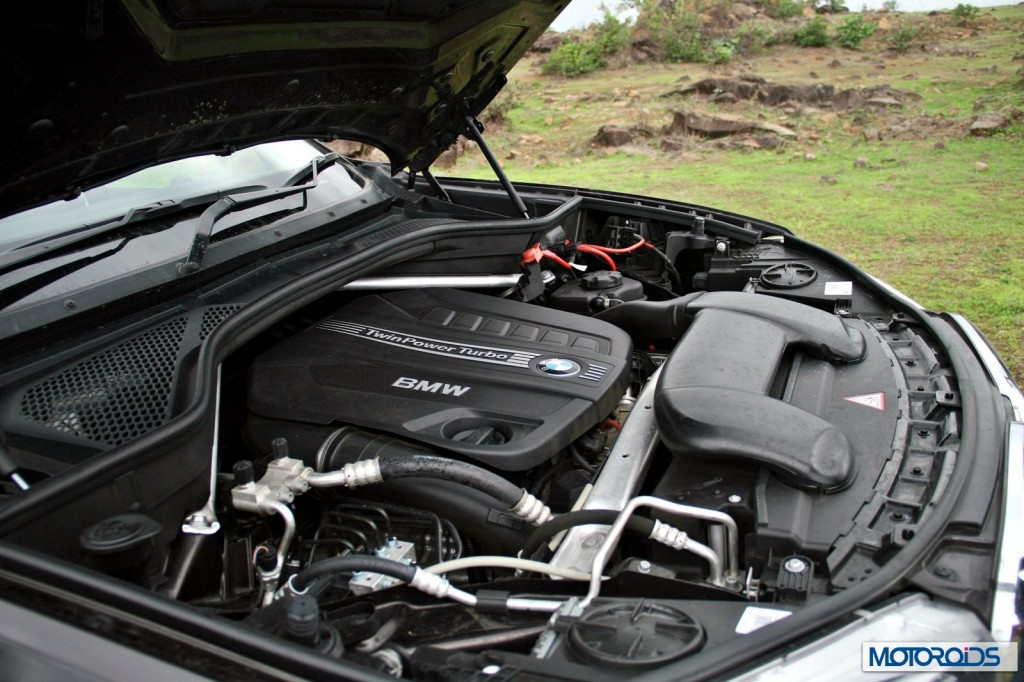 BMW X5 xdrive 30d engine
