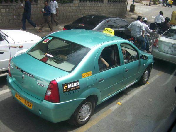 Bangalore_Taxi_Meru_Image 1