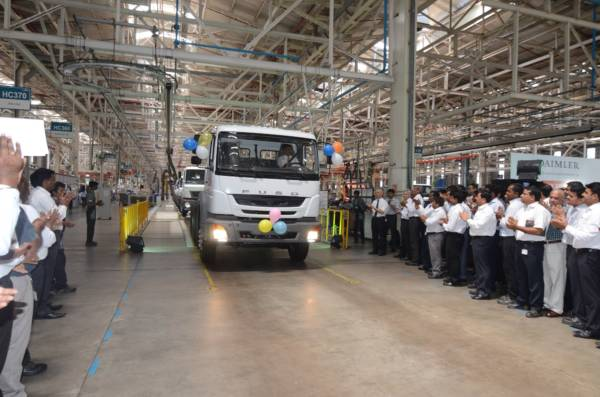 DICV starts production of Left-Hand Drive FUSO trucks