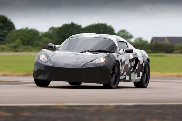 Detroit Electric SP01 prototype testing