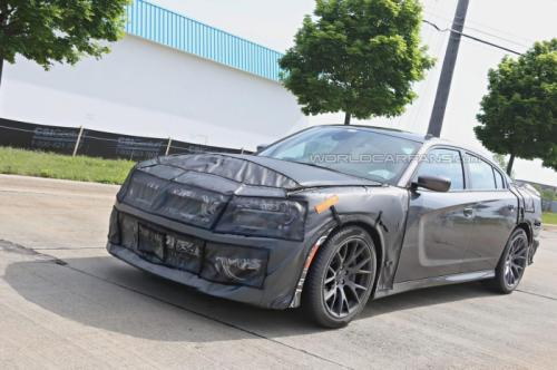 Dodge Charger SRT Spy Pics - 2