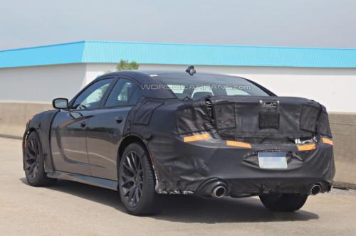 Dodge Charger SRT Spy Pics - 4
