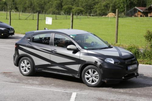 Euro-Spec Honda HR-V Spied Profile