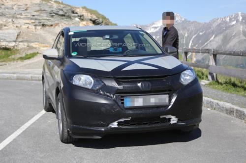 Euro-Spec Honda HR-V Spied