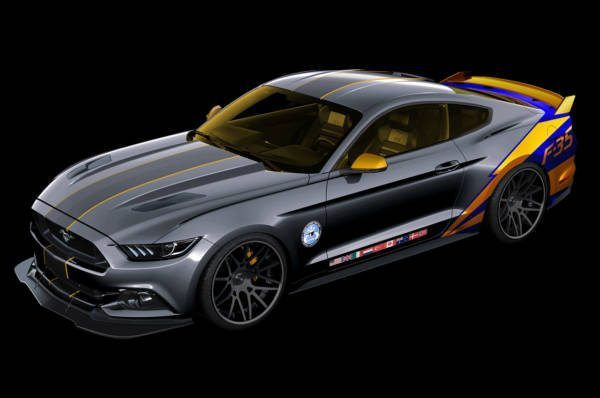 F-35 ford mustang 2015
