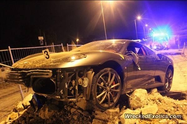 F430 crash