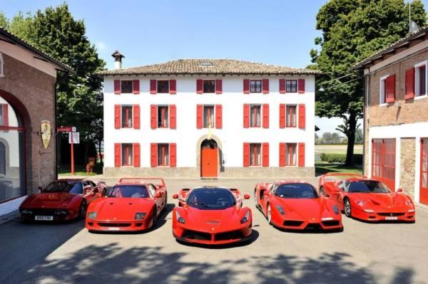 Ferrari Collector Road Trip
