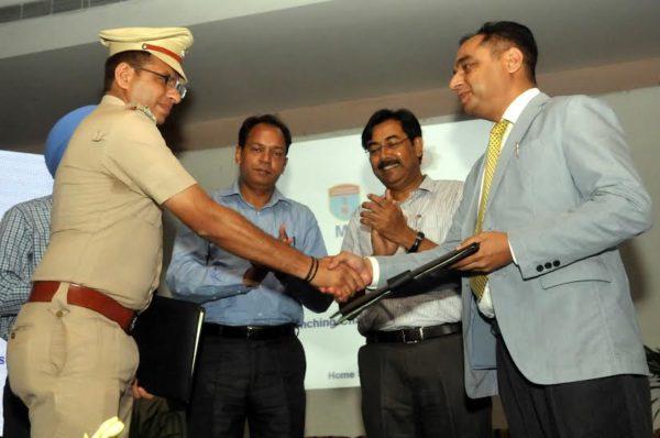 Honda-MoU-Chandigarh-Police-Image-1