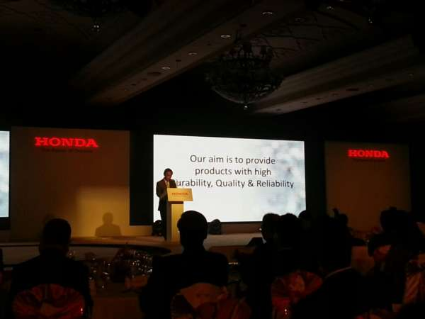 Honda Mobilio Launch