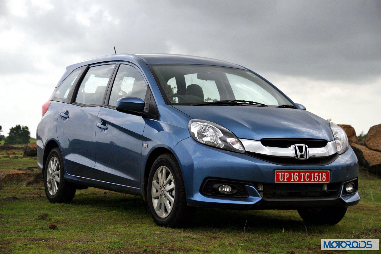 Honda Mobilio Production Discontinued In India Motoroids