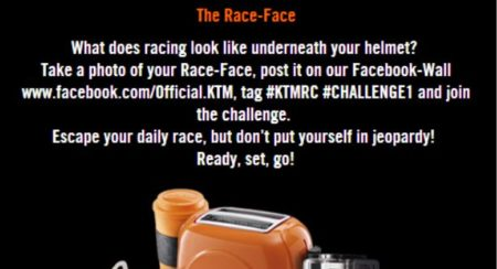 KTM Escape Your Daily Race Challenge 1
