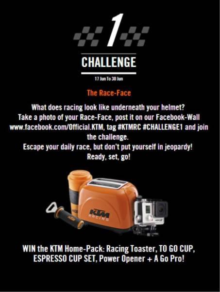 KTM Escape Your Daily Race Challenge 1