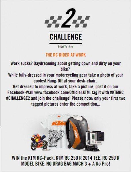 KTM Escape Your Daily Race Challenge 2