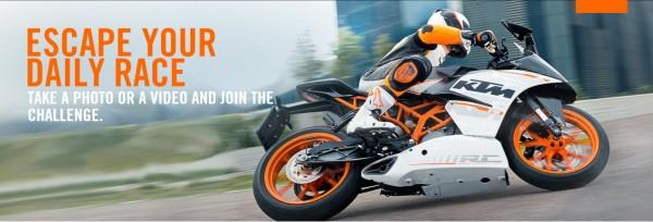 KTM Escape Your Daily Race Challenge