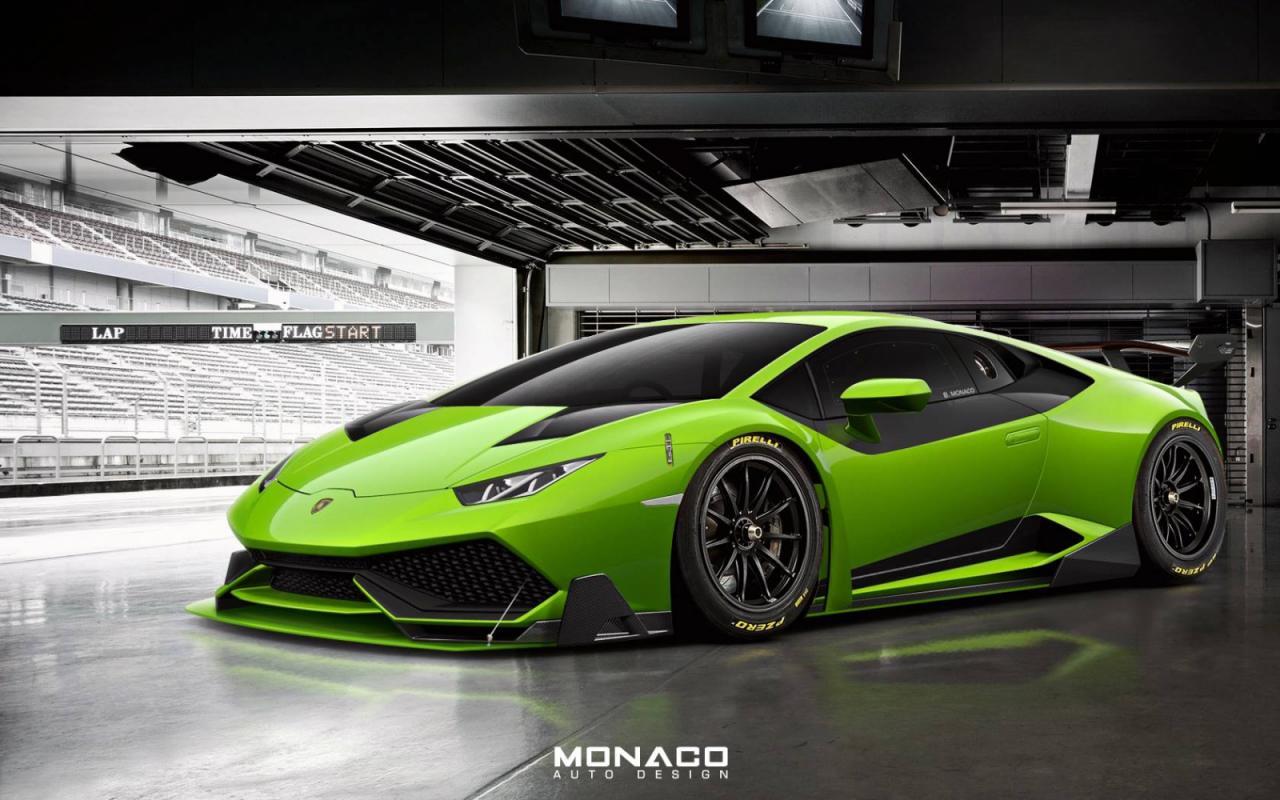 Rendered Lamborghini Huracan Super Trofeo Motoroids