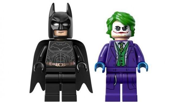 Lego Tumbler Batmobile Batman Joker
