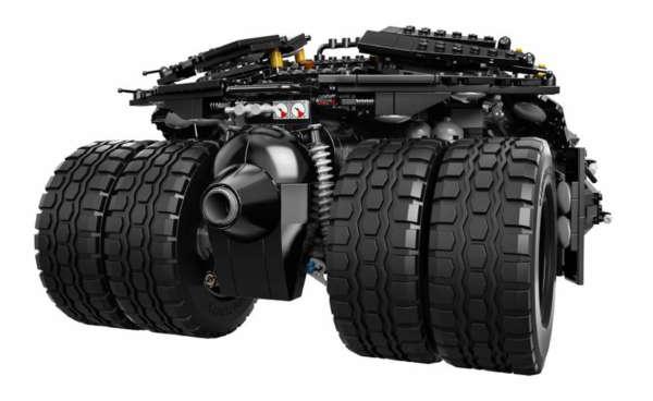 Lego Tumbler Batmobile rear