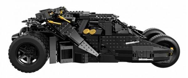 Lego Tumbler Batmobile sideview