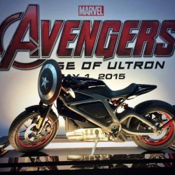 Harley-Davidson Project Livewire will feature in the new 'Avengers' movie