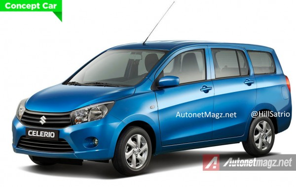 Low-Cost Celerio MPV Rendered