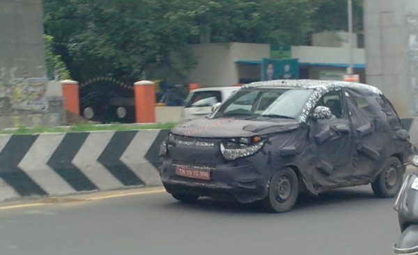 Mahindra S101 Spied in Motion