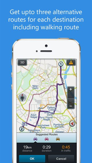 MapmyIndia NAviMaps (iOS) 3