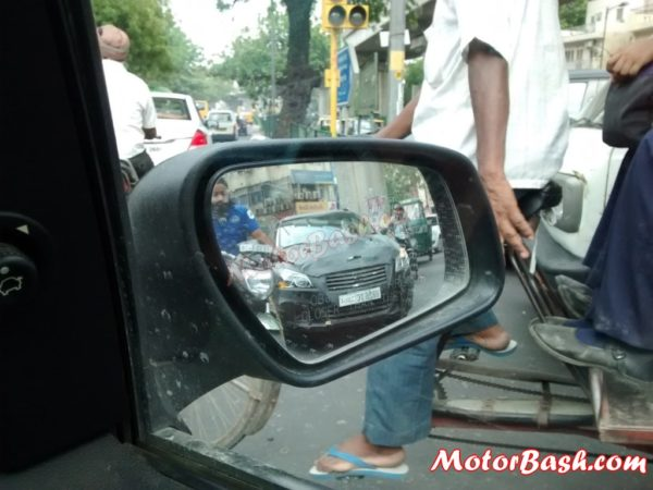 Maruti-Suzuki Ciaz Spied Front