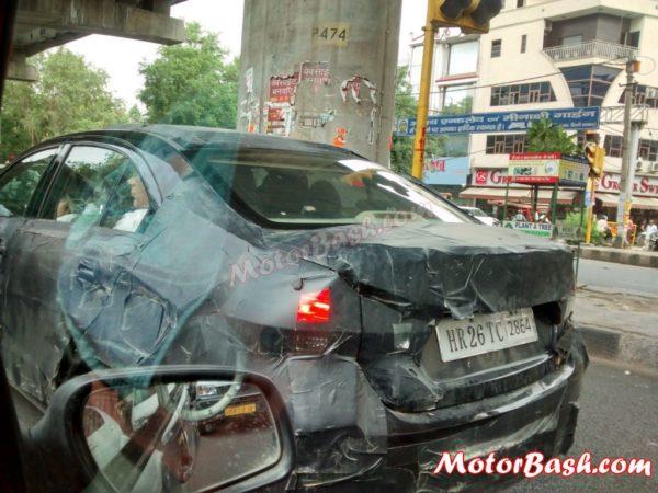 Maruti-Suzuki Ciaz Spied Rear