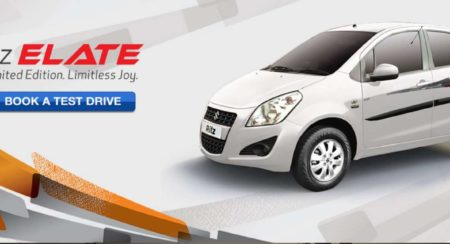 Maruti-Suzuki Ritz Elate Limited Edition