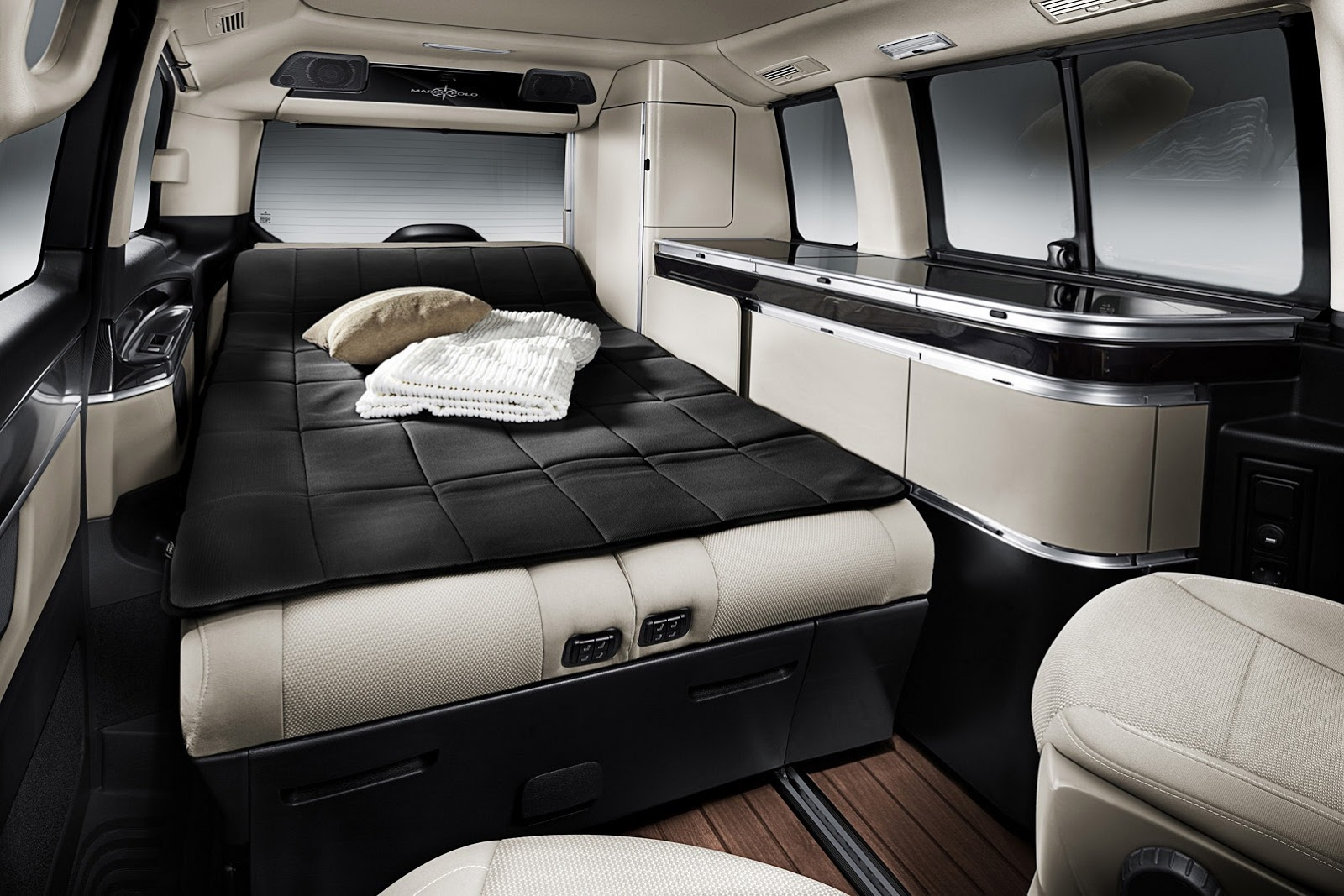 It S Time To Sleep With The Flick Of A Switch Two Electrically Adjule Rear Seats Will Be Transformed Into Lavish Bed
