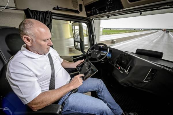 Mercedes-Benz Future Truck 2025