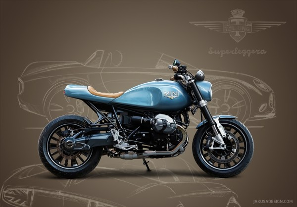 Mini Superleggera Motorcycle Concept