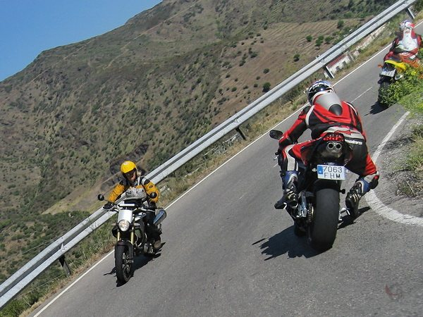 Motorcycle Cornering Tips