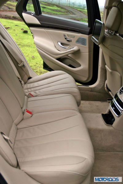 New S Class S350 CDI interior (2)