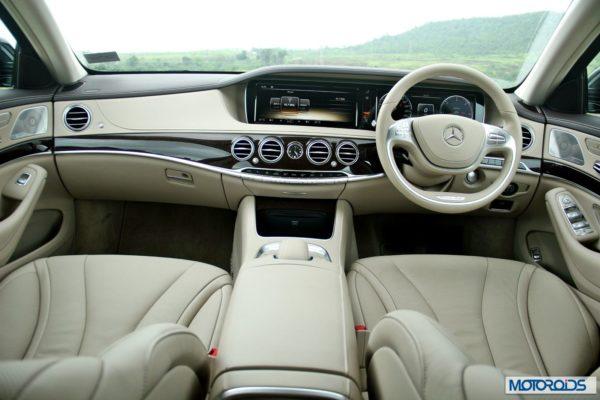 New S Class S350 CDI interior (3)