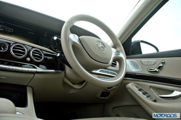 New S Class S350 CDI interior (5)