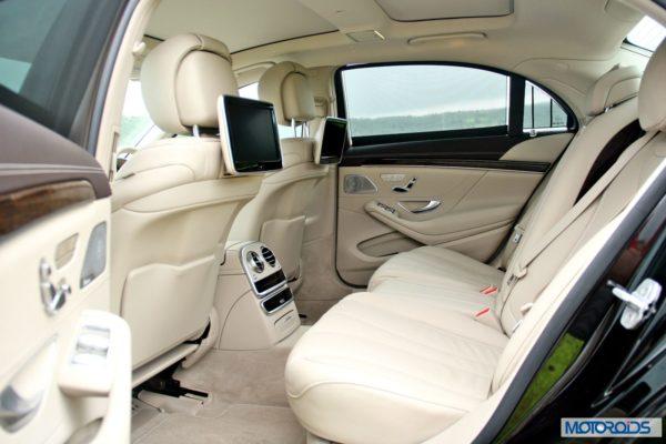 New S Class S350 CDI interior (7)