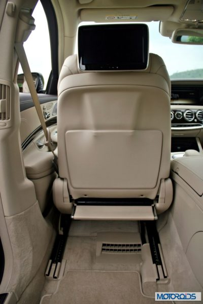 New S Class S350 CDI interior (8)